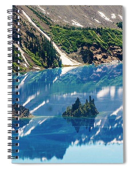 Phantom Ship Island Spiral Notebook