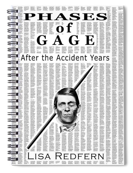 Phases Of Gage Book Poster  Spiral Notebook