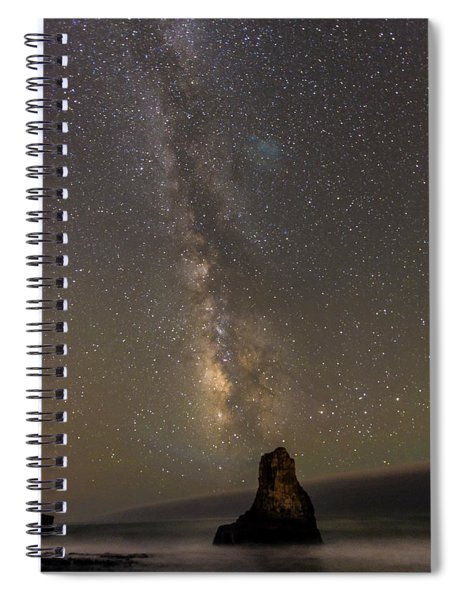 Phases Of Matter Spiral Notebook