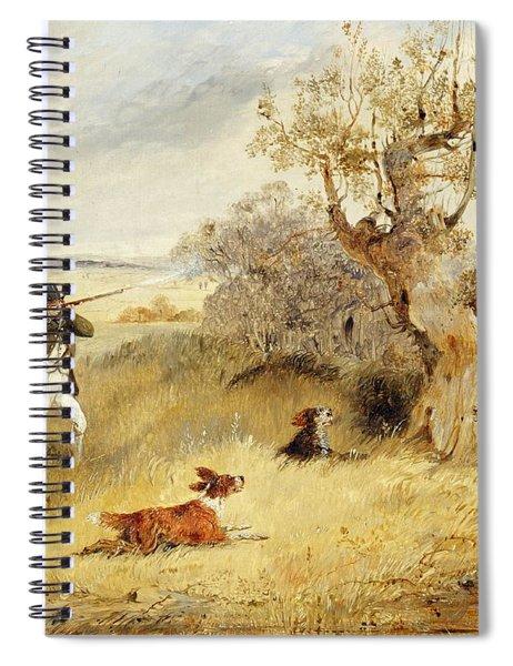 Pheasant Shooting Spiral Notebook
