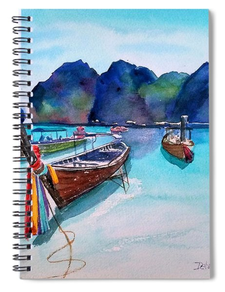 Phi Phi Island Spiral Notebook