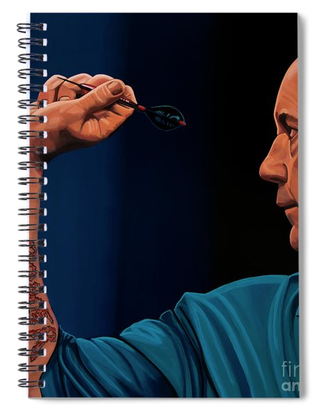 Phil Taylor The Power Spiral Notebook