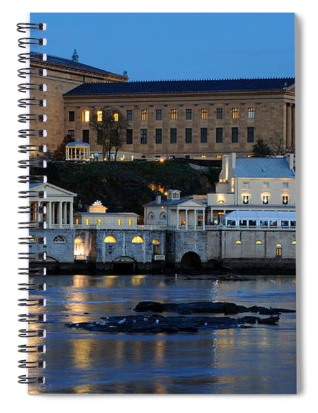 Philadelphia Art Museum And Fairmount Water Works Spiral Notebook