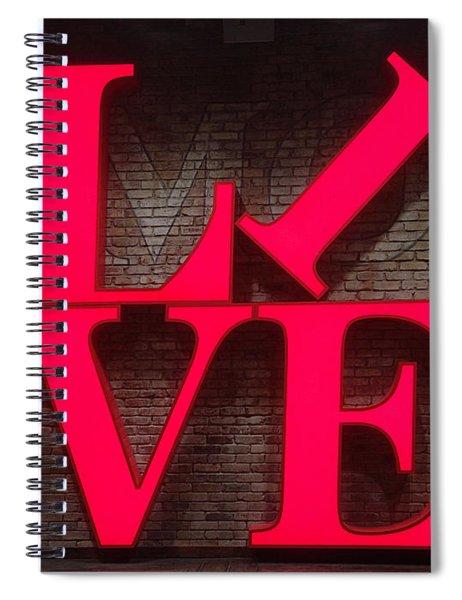 Philadelphia Live Spiral Notebook