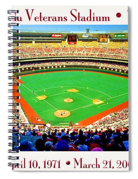Philadelphia Veterans Stadium The Vet Spiral Notebook