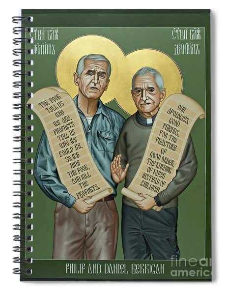 Philip And Daniel Berrigan Spiral Notebook