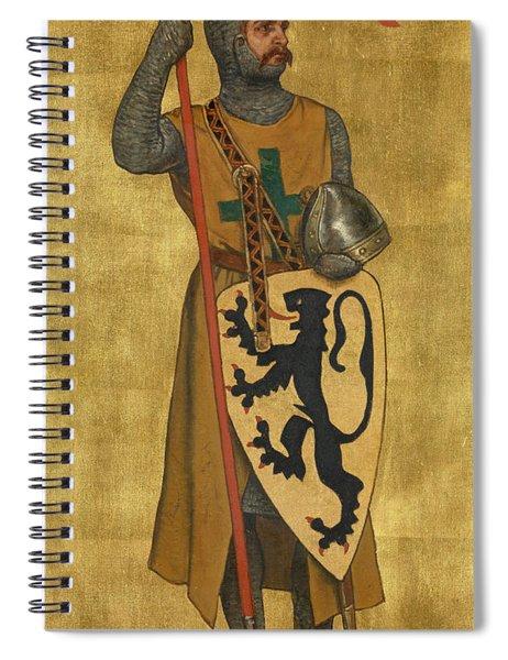 Philip Of Alsace Spiral Notebook