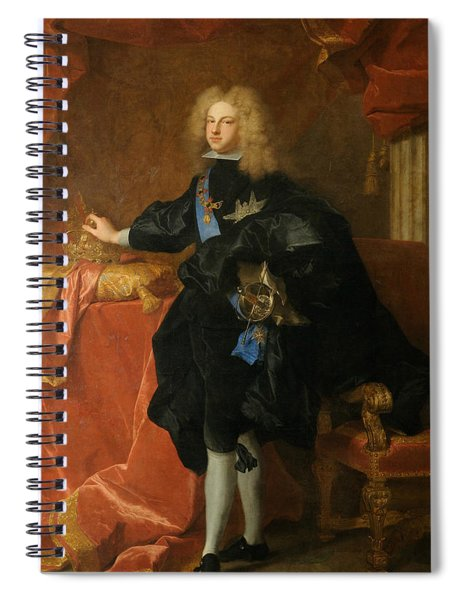 Philip V, King Of Spain  Spiral Notebook