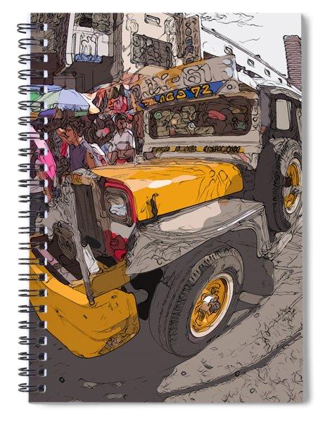 Philippines 1261 Jeepney Spiral Notebook