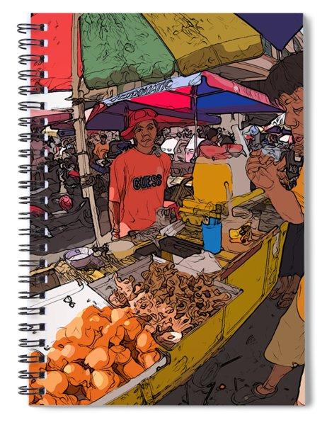 Philippines 1299 Street Food Spiral Notebook