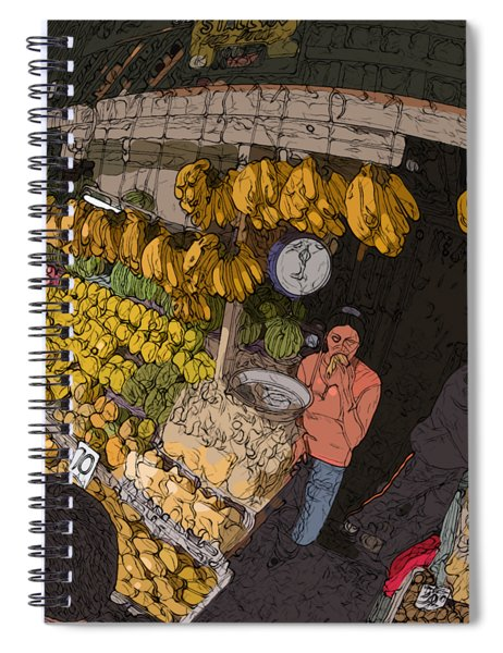 Philippines 3575 Saging Sales Lady Spiral Notebook