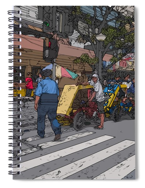 Philippines 906 Crosswalk Spiral Notebook