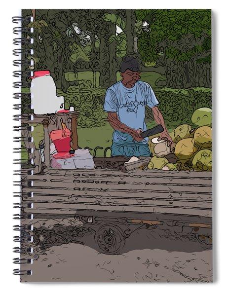 Philippines 936 Buko Spiral Notebook