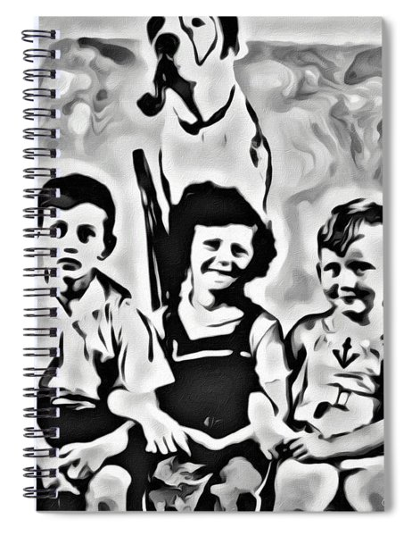 Philly Kids With Petey The Dog Spiral Notebook