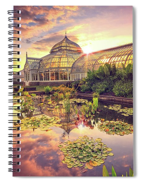 Lilys At Phipps  Spiral Notebook