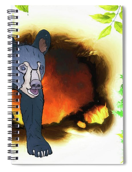 Phoebes And Bears Spiral Notebook