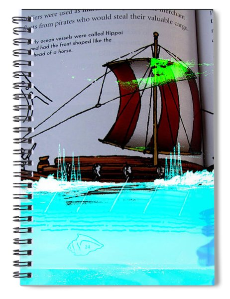 Phoenician Night Voyagers  Spiral Notebook