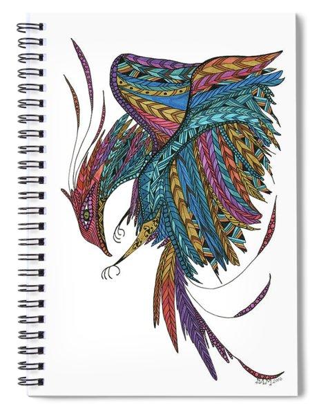 Phoenix Landing Spiral Notebook