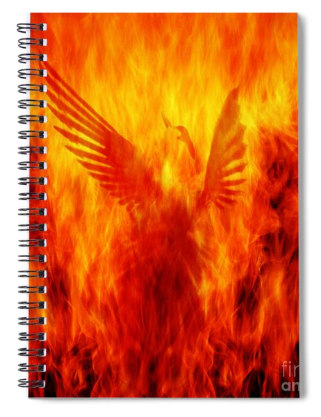 Phoenix Rising Spiral Notebook