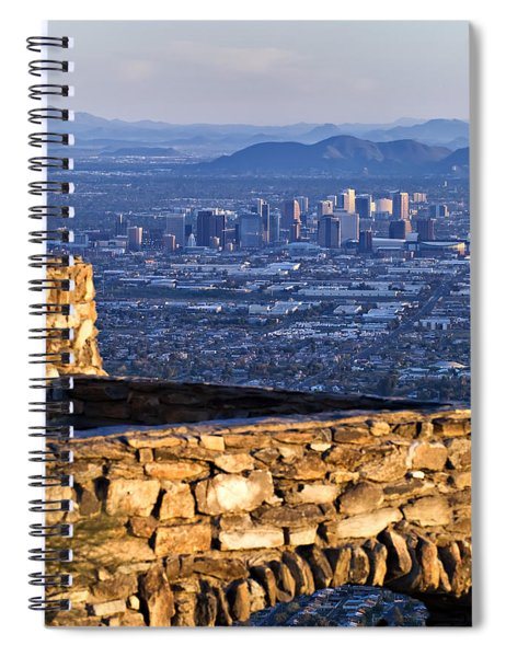 Phoenix Sunrise Spiral Notebook