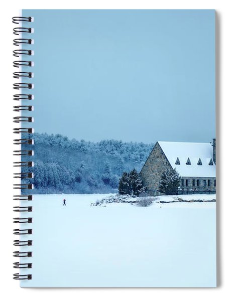 Photographer On Thin Ice Spiral Notebook
