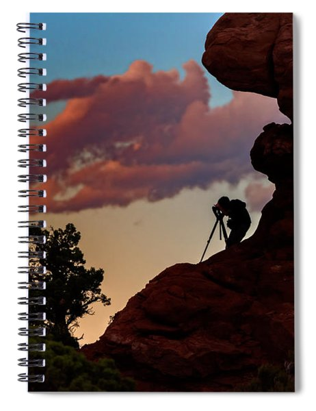 Photographing The Landscape Spiral Notebook