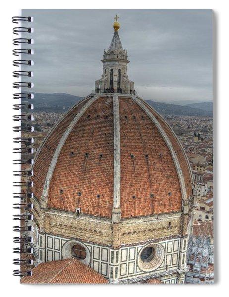 Piazza Del Duomo Spiral Notebook