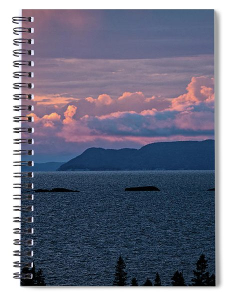 Pic Island Spiral Notebook