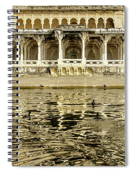 Pichola Reflection 01 Spiral Notebook