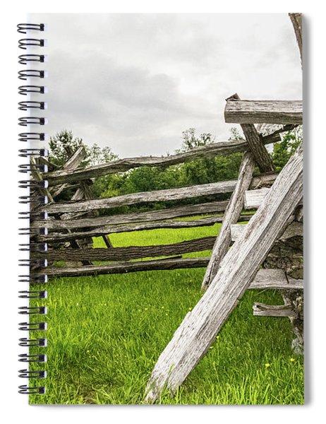 Picket Fence Spiral Notebook