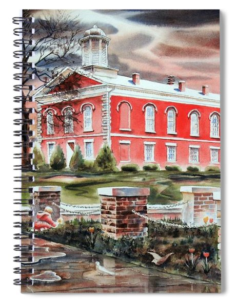 Picking The Tulips, No W102b Spiral Notebook
