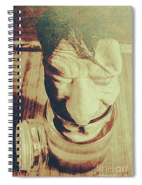 Pickle Me Grandfather Spiral Notebook