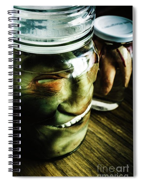 Pickled Monsters Spiral Notebook