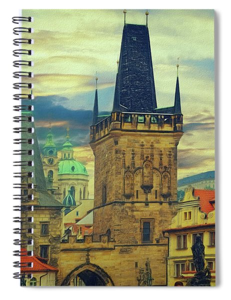 Picturesque - Prague Spiral Notebook