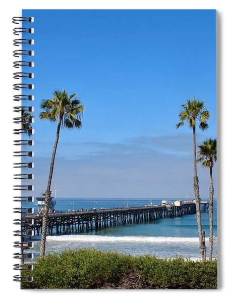 Pier And Palms Spiral Notebook