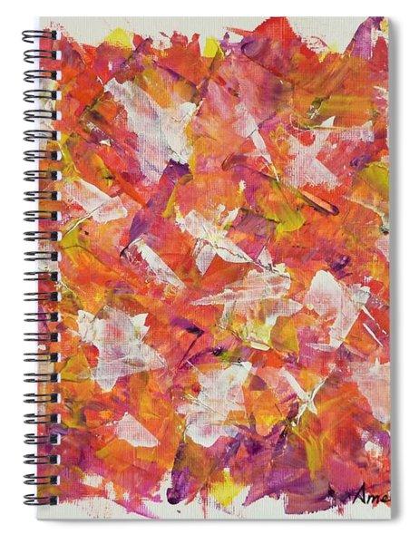 Piecefall  Spiral Notebook