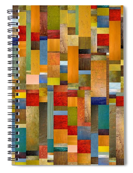 Pieces Parts Spiral Notebook