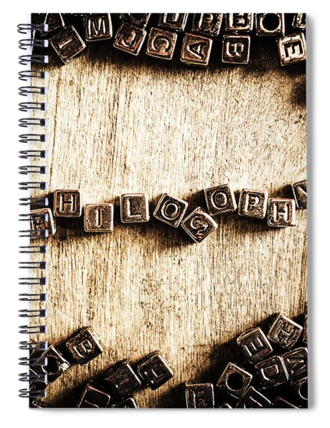 Piecing Together Philosophy Spiral Notebook