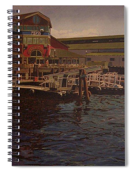 Pier 55 - Red Robin Spiral Notebook