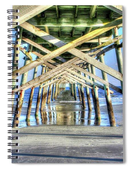 Pier Spiral Notebook