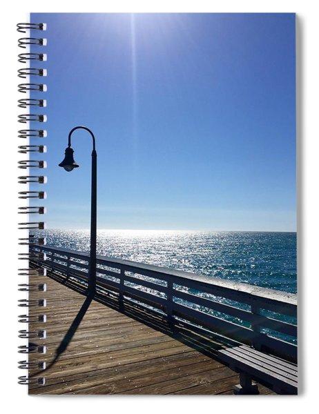Pier Gazing Spiral Notebook