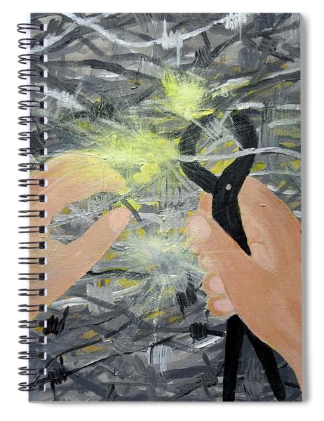 Pierced Spiral Notebook