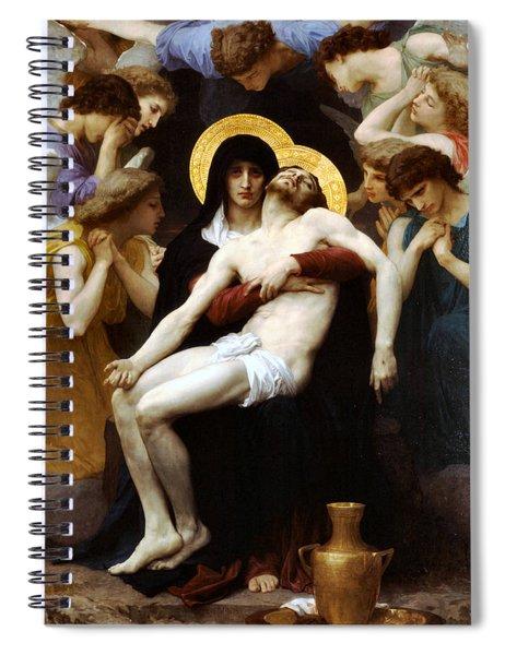 Pieta 1876 Spiral Notebook