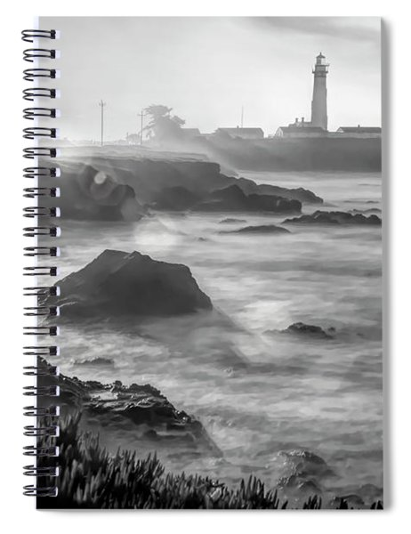 Pigeon Point Rocky Shore Spiral Notebook