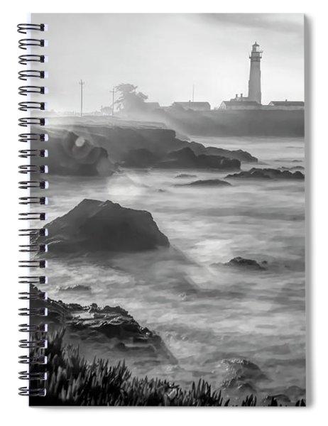 Pigeon Point Rocky Shore Spiral Notebook