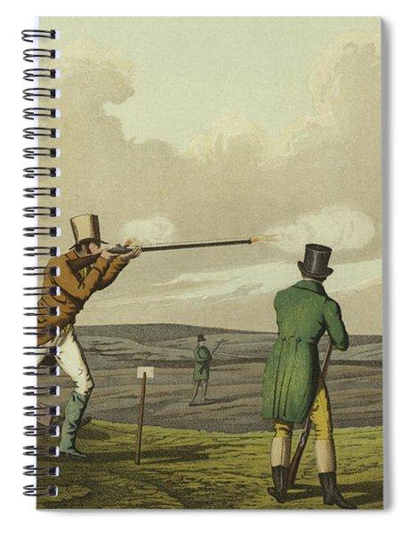 Pigeon Shooting Spiral Notebook