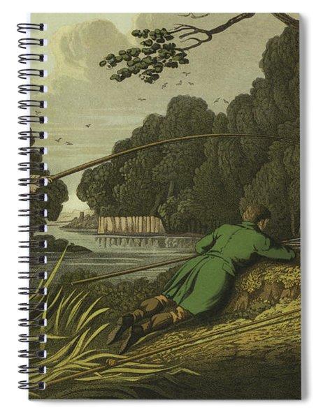 Pike Fishing Spiral Notebook