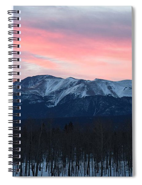 Sunrise Pikes Peak Co Spiral Notebook