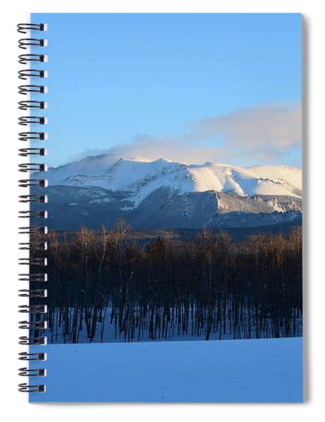 Pikes Peak From Cr511 Divide Co Spiral Notebook