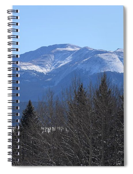 Pikes Peak Cr 511 Divide Co Spiral Notebook